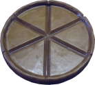 9 Inch Chocolate Pizza Crust Mold