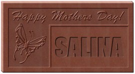 MOTHERS DAY BUTTERFLY CHOCOLATE NAME MOLD