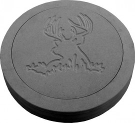 Buck Deer Round Stepping Stone Mold